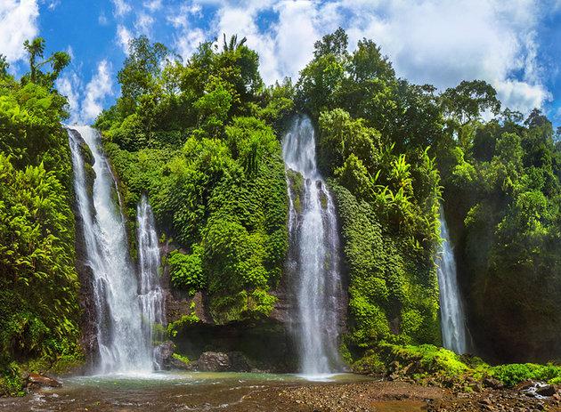 ostrvo bali vodopadi