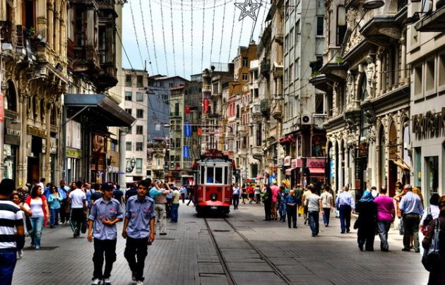 ISTIKLAL ULICA