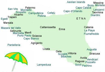Najlepse Plaze Na Siciliji Odmor Plus