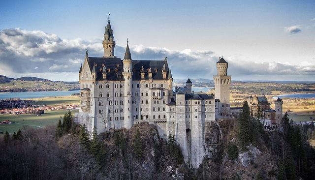 dvorac Neuschwanstein nemacka