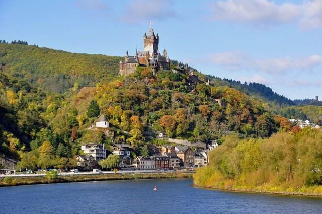 dvorci nemacke