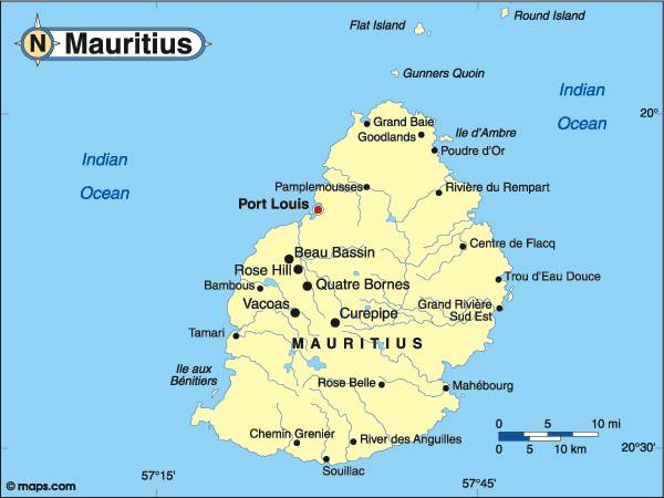 mauricijus mapa Ostrvo Mauricijus za letovanje – Odmor Plus mauricijus mapa