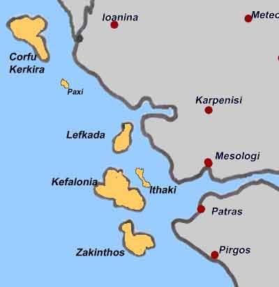 Kanarska Ostrva Mapa