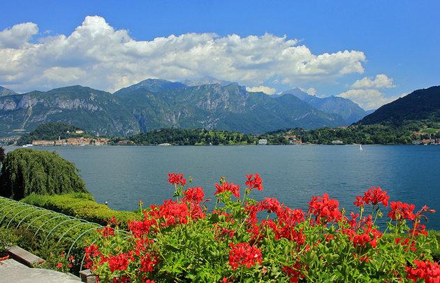 Jezero komo udaljenost od milana