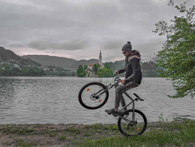Slovenija jezero bled