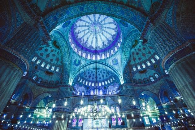 plava dzamija istanbul
