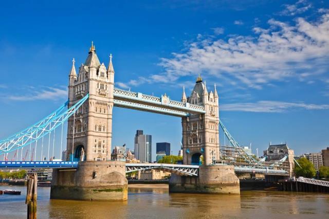 most u londonu