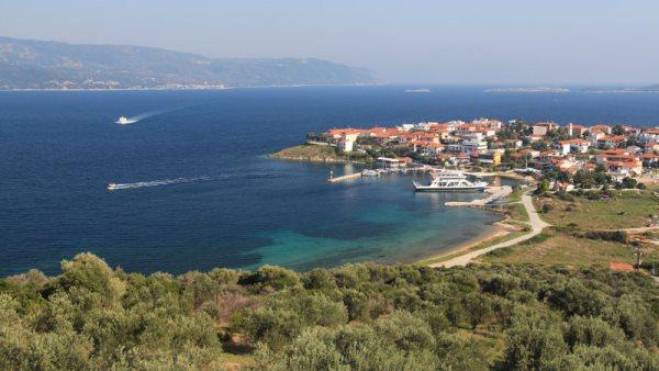 Grcka ostrvo Amulijani
