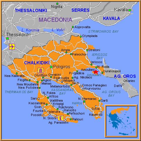 amuljani mapa Grčka Amuljani (Amulijani) ostrvo u koje ćete se zaljubiti – Odmor  amuljani mapa