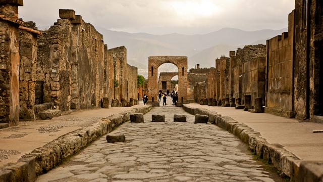 pompeja italija